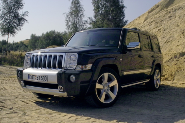 Jeep Commander: Bruderduell