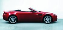 Aston Martin V8 Vantage als Roadster
