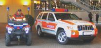 Rettungsfahrzeuge fürs Gelände
