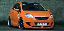 Fiat Grande Punto: Frische Orange