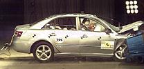 Vier Crash-Sterne für Hyundai Sonata