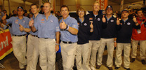 Fünffach-Triumph für VW auf erster Dakar-Etappe