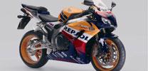 Honda Fireblade in Weltmeister-Farben