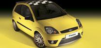 Limitiertes Editionsmodell Ford Fiesta
