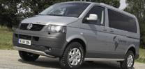 VW Multivan in Offroad-Optik