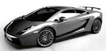 Der neue Lamborghini Gallardo Superleggera fährt vor