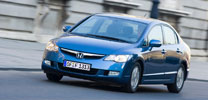 Fahrbericht Honda Civic Hybrid: Komfort mit sauberem Gewissen