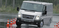 Ford Transit ab sofort mit ESP