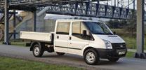 Ford Transit mit Autogas-Antrieb
