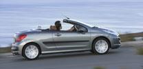 Peugeot 207 CC feiert Premiere in Genf und Leipzig