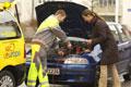 Pflege für Autobatterien
