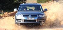 Vorstellung Volkswagen Touareg: Schlammschlacht inklusive