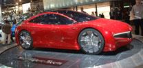Honda Hybrid-Sportwagen-Studie: Automobile Zukunft