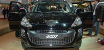 Peugeot 4007: Der Löwe fletscht die Zähne