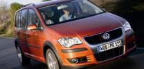 VW Cross Touran: Auf dem Boulevard zu Hause