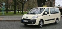 Peugeot präsentiert Taxi-Versionen auf der AMI 2007