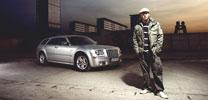 Sänger Maliq fährt Chrysler 300C