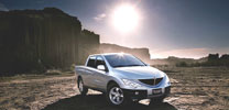 SsangYong Actyon Sports 200 Xdi: Mutig gestylter Pick-Up