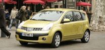Umwelt-Zertifikat für Nissan Note