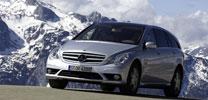 Mercedes Benz präsentiert neue Kombinationsmöglichkeiten für die R-Klasse