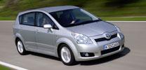 Toyota Corolla Verso mit frischer Optik und mehr Komfort
