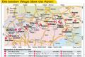 ADAC empfiehlt die schnellsten Routen über die Alpen