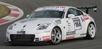 Nissan 350Z GT4 startet beim 24h-Rennen auf dem Nürburgring