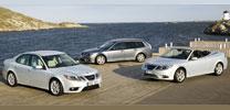 Saab gibt dem 9-3 ein neues Gesicht und BioPower