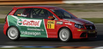 VW Polo-Cup: Bremsen wichtiger als Gas geben