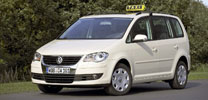 VW Touran als Erdgas-Taxi