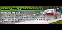 10x 2 Freikarten für Top-10-Racing Wochenende auf dem Nürburgring zu gewinnen