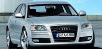 Audi A8 jetzt als 2.8 FSI mit niedrigstem CO2-Wert seiner Klasse