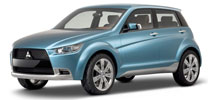 Mitsubishi Concept-cX hat künftigen Dieselmotor unter der Haube