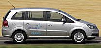 Opel Zafira CNG umweltverträglichster Siebensitzer