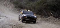 Porsche Cayenne auf Rallye in die Mongolei
