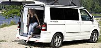 VW California: Reisemobil ohne Parkplatznot