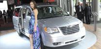 Chrysler Grand Voyager mit zwei unterschiedlichen Sitzsystemen