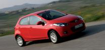 Der neue Mazda2:  Rundherum abgespeckt