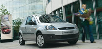 Ford präsentiert Fiesta Van