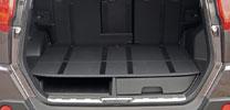Geheimfächer im Nissan X-Trail