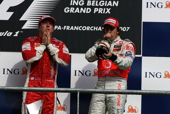 Kimi Räikkönen gibt Alonso Recht: Startmanöver war nicht unfair