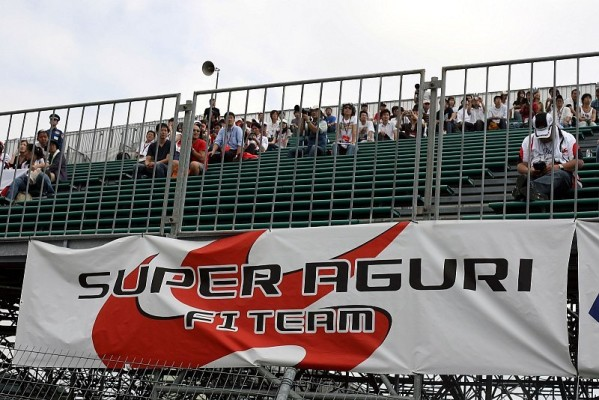 Super Aguri neu beklebt: Probleme zum Auftakt