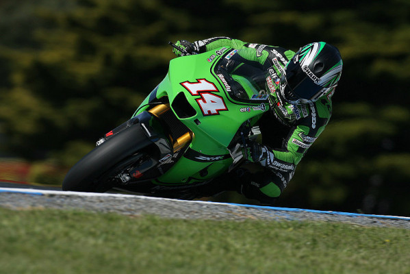2. Training MotoGP: De Puniet mit hauchdünnem Vorsprung