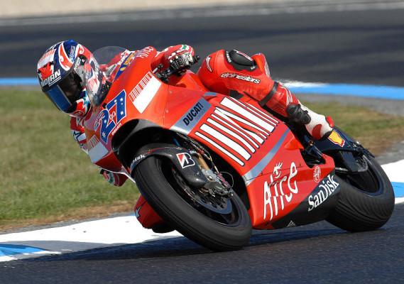 3. Training MotoGP: Stoner bleibt vorne