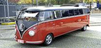 "5000 VW-Bus-Fahrer feiern ""60 Jahre Bulli"""