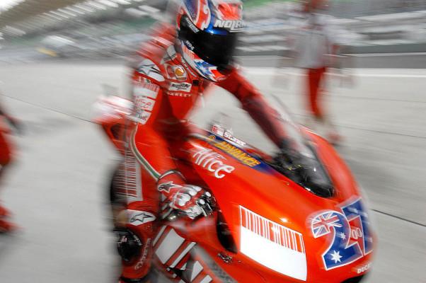 Bei Ducati litten die Fahrer: Benommen im Ziel und getrübte Erinnerung
