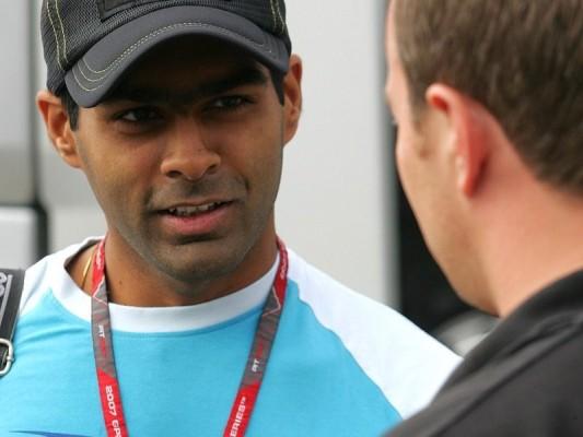 Chandhok wartet noch: Die Formel 1 kommt später