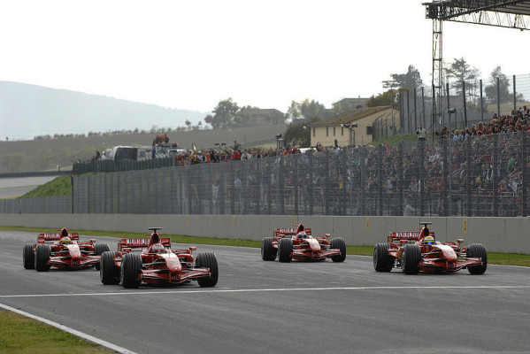 Ferrari feiert mit 30.000: Nur ein dunkler Fleck