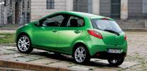 Mazda 2 und CX-7 rollen zu den Händlern