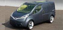 Nissan präsentiert Kleintransporter-Studie NV200